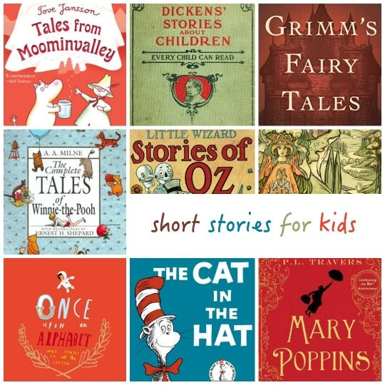A list of best short stories for kids. Classics and new bestsellers. Some of the collections are free to download