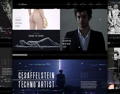 "Check out new work on my @Behance portfolio: ""Gesaffelstein - website"" http://be.net/gallery/40848587/Gesaffelstein-website"