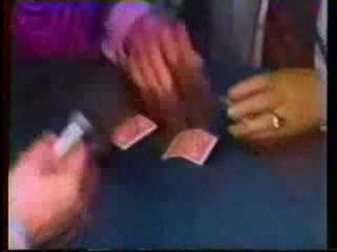 "Dai Vernon 3 card monte. A clip of ""The Professor"" Dai Vernon performing the 3 card monte from the early 1980's."
