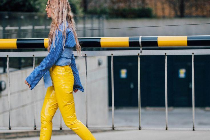 Sokak Stili: 2017 Sonbahar/Kış Londra Moda Haftası 4. ve 5. Gün