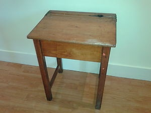 Old School Desk Writing Vintage Wooden Restoration Project Just Things I Like Pinterest Desks And
