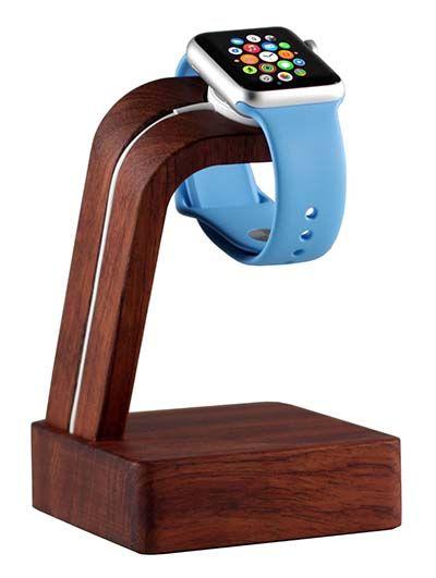 Apple Watch Wood Oak Charging Station