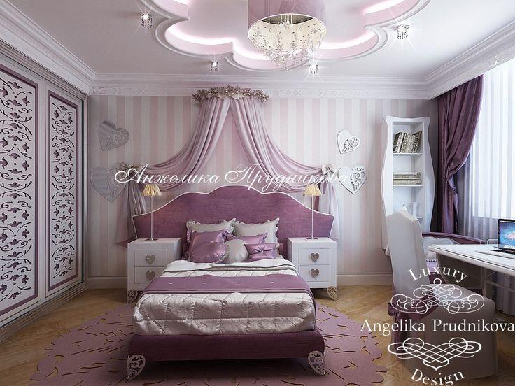 Детская комната для девочки - Дизайн пентхауса