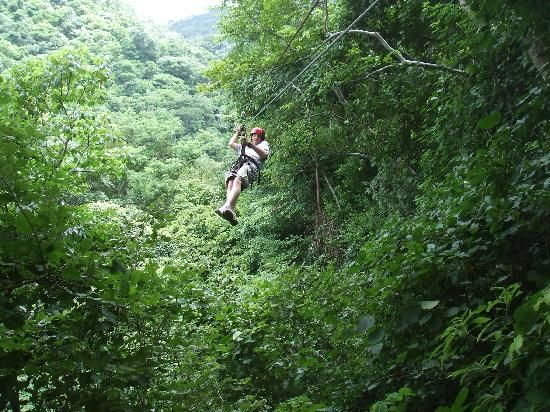 Da Flying Frog Canopy Tours (18 options, really well reviewed, US$30) in San Juan del Sur.