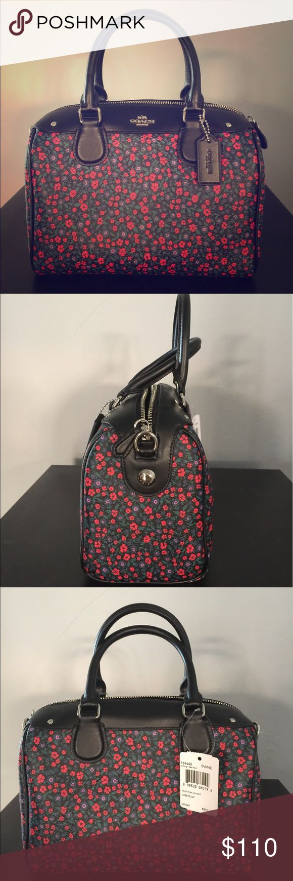 Coach Boston bag Flowers classic Coach Bags Crossbody Bags