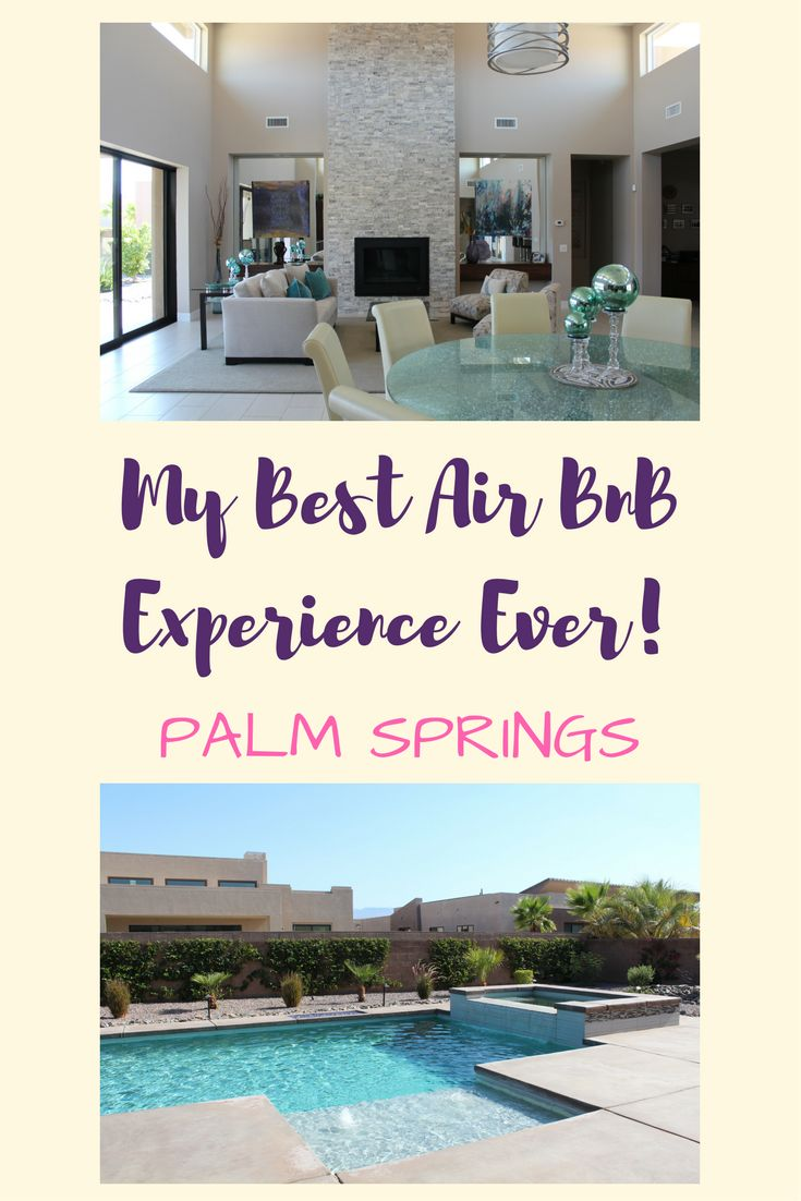 I've stayed in many AirBnB's, but my stay in Palm Springs put them all to shame! Read all about it here!
