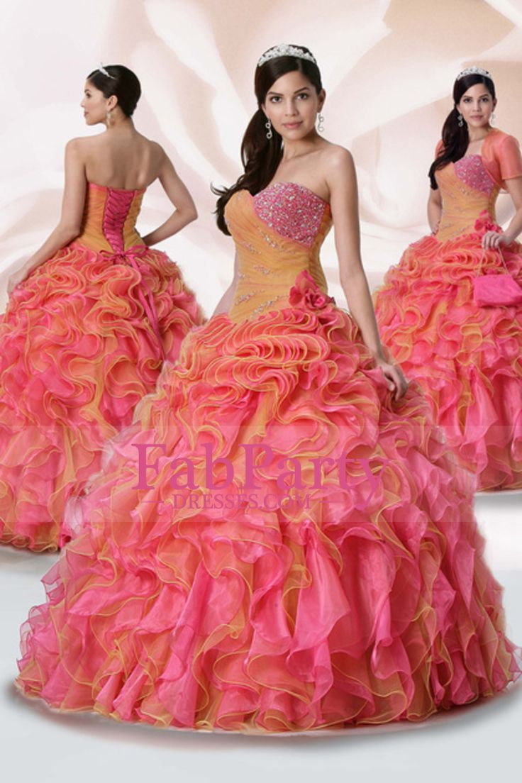 8 best quinceanera images on Pinterest | Gown, Ball gown and Quince ...