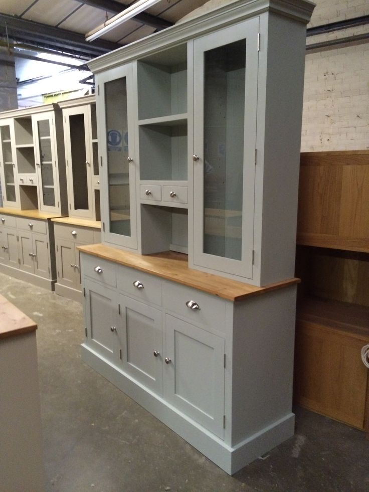 5' Dresser painted F&B Parma Gray.
