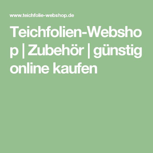 Teichfolien-Webshop   Zubehör   günstig online kaufen