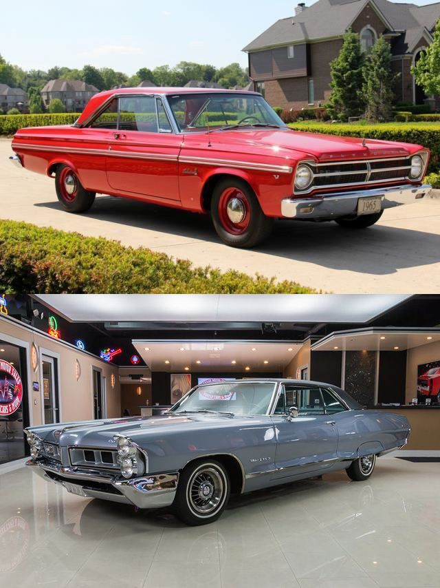 Plymouth Belvedere 1965 or Pontiac Grand Prix 1965 - https://www.musclecarfan.com/plymouth-belvedere-1965-or-pontiac-grand-prix-1965/