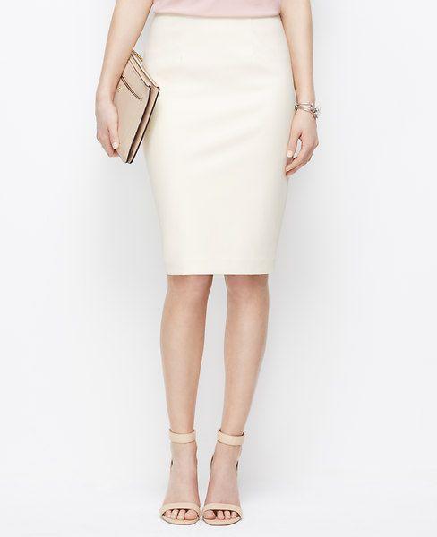 6ba6b86ee3 Best 25 Cream pencil skirt ideas on Pinterest | Lace skirt .