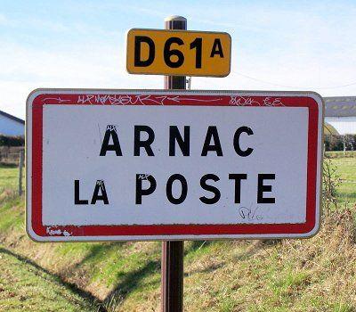 arnac-la-poste se situe dans les environs de limoges.