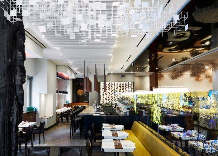 Nota Bene is a high-end restaurant serving modern Canadian cuisine on bustling Queen Street West.