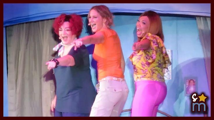 "Jennifer Nettles, Tisha Campbell Martin & Lea DeLaria  - ""Dancing Queen"" - Mamma Mia! Hollywood Bowl - YouTube"