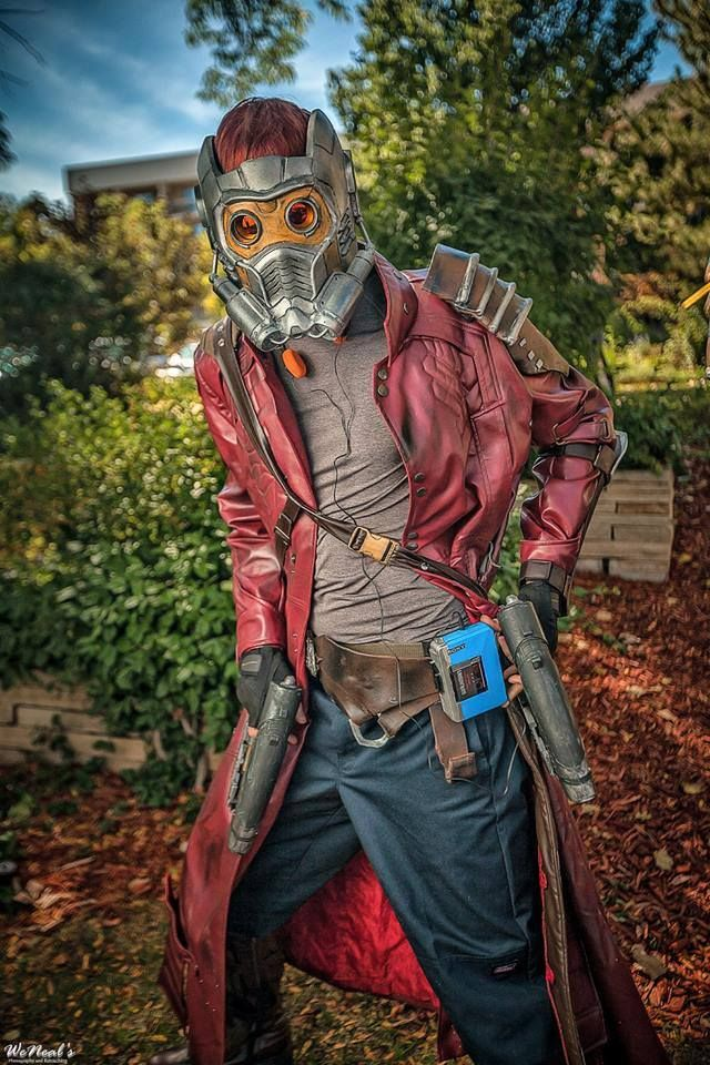 Epic weathering, coat, and mask on this Star Lord cosplay! - 9 Star Lord Cosplays