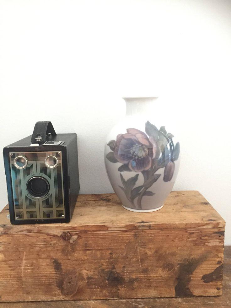 Royal Copenhagen/flower/art nouveau/vase/mark 129 by WifinpoofVintage on Etsy