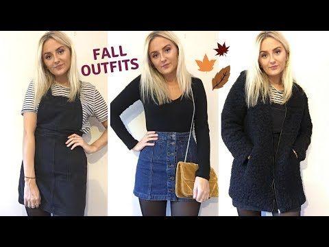 Autumn outfits 2017 - YouTube