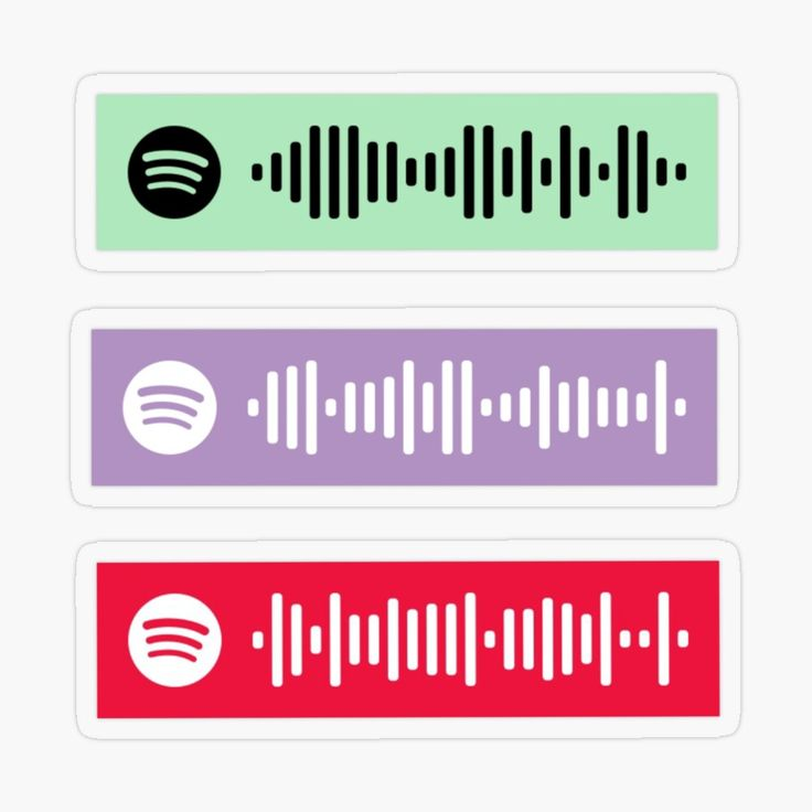 Meme songs spotify scan codes transparent sticker by