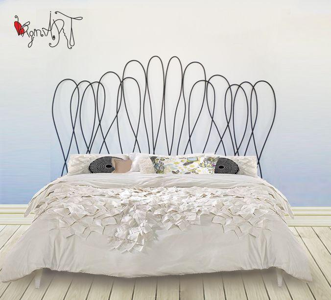 Dise o en cabeceros y camas de forja - Cabeceros artesanales ...