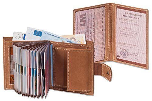 Nuova offerta in #scarpe : Woodland - portafoglio super-compatto con XXL tasche carte di credito per 18 carte fatto di appassionati non trattati   auto Scheinetui a Cognac a soli 22.89 EUR. Affrettati! hai tempo solo fino a 2016-10-01 23:29:00