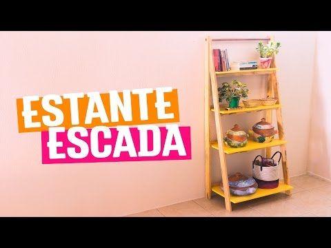 DIY - ESTANTE ESCADA   Diycore - YouTube