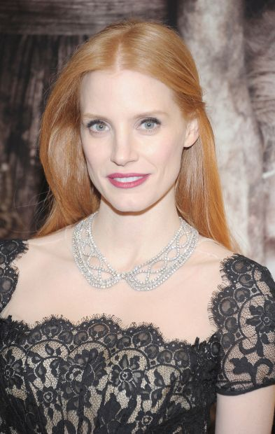 Jessica Chastain - she was at dinner the other night - so elegant...