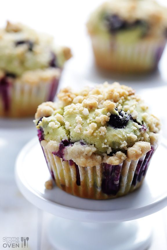 Avocado Blueberry Muffins Recipe | gimmesomeoven.com
