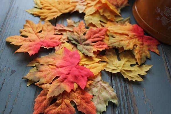 DIY Fall Leaf Bowl by DIY Louisville