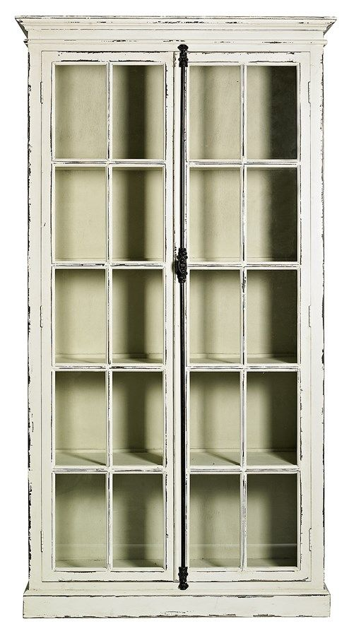 Display cabinets This vitrine from Nordal is inspired by an old fashioned window.