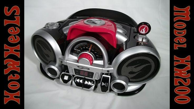 HotWheels CD Rock N' Race Boombox HW200 Bluetooth Mod