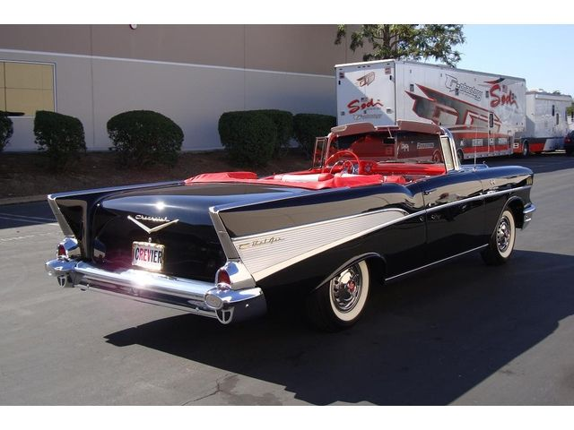 1957 Chevrolet Bel Air #boris_stratievky #retro_cars #vehicles