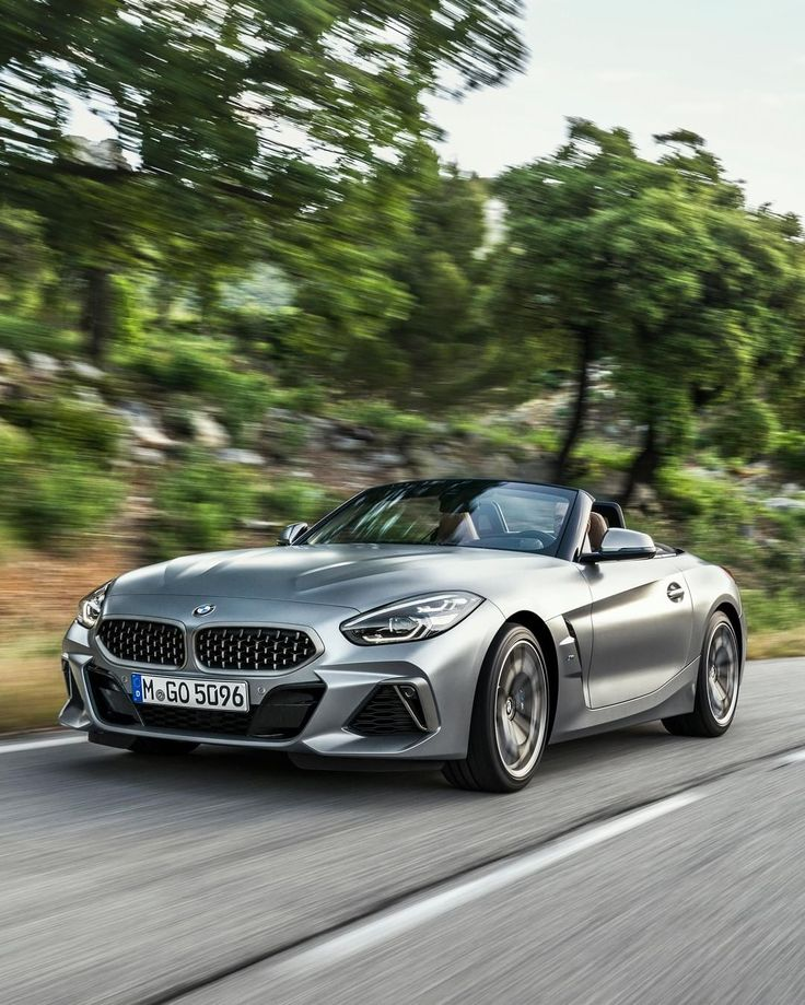 2019 Bmw Z4: BMW G29 Z4 Roller In Frozen Grey II Metallic