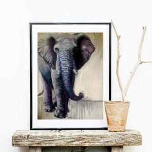 Elephant art-best gift for elephant lovers