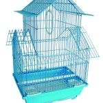 Price: $19.15 & FREE Shipping   This bird aviary has a Non-Toxic Powder Coated Finish And 1/2 Inches Bar Spacing. • Comes with 1 Swing and 2 Perches for your bird's entertainment. • The Cage has 1 Slide Up Doors and 2 Slide up Door and Cups For Easy Feeding. • The Plastic Bottom Grate And Removable Plastic Tray for Easy Cleaning