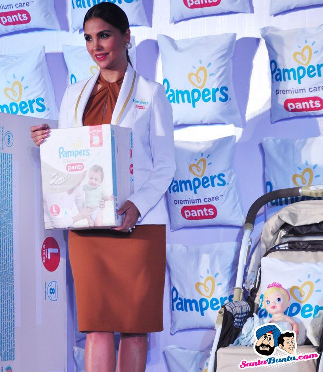 Pampers Premium Care Pants Launch -- Lara Dutta Picture # 319928
