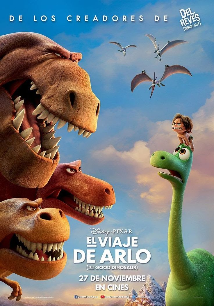El viaje de Arlo - The good dinosaur (diciembre 2015)