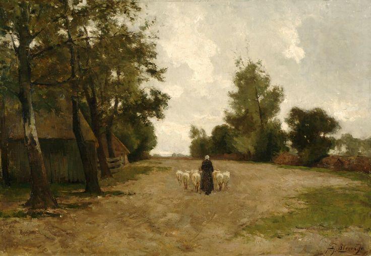 Piet Slager, Schapen naar de kooi