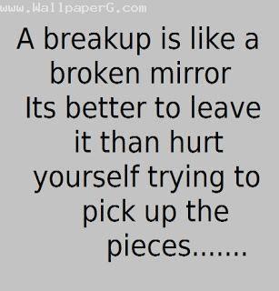 By reading some of positive breakup quotes to move on and let go the feelings, you can gradually accept the fact that you are already breaking up. Description from pinterest.com. I searched for this on bing.com/images