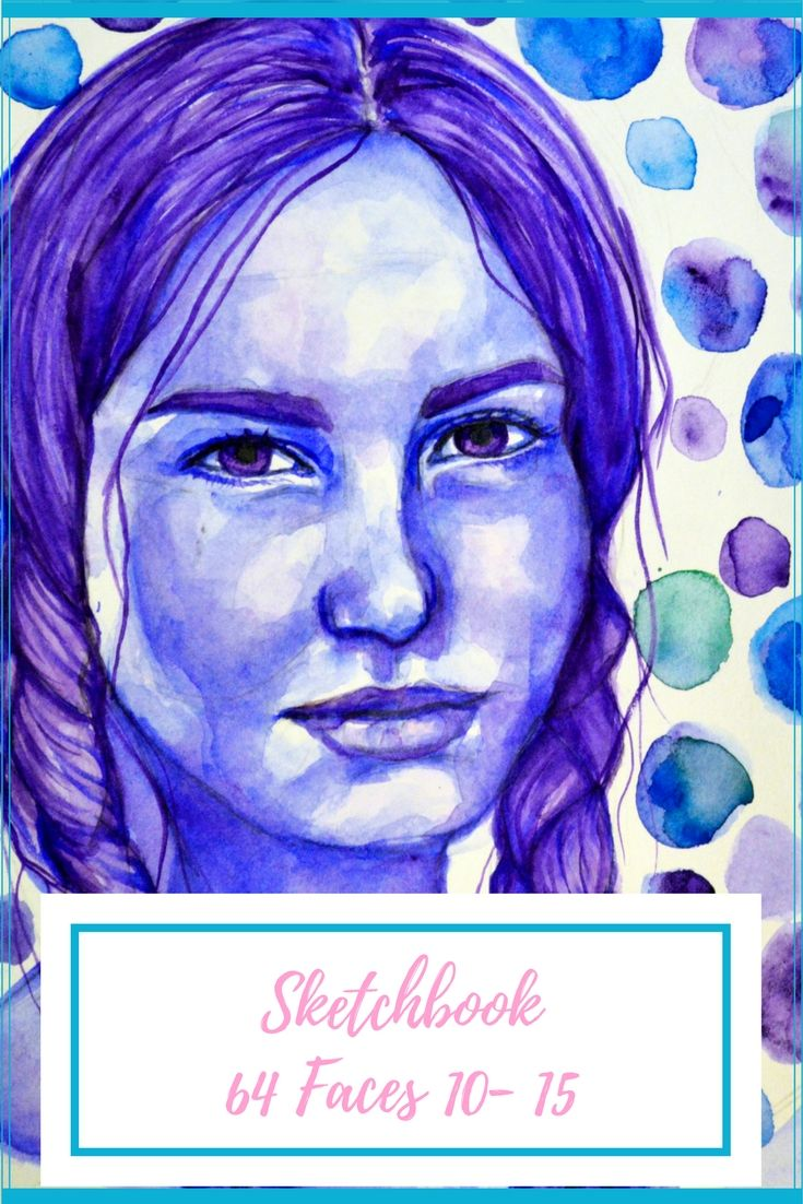 64 Faces - September Portrait update - Artfully Creative Life