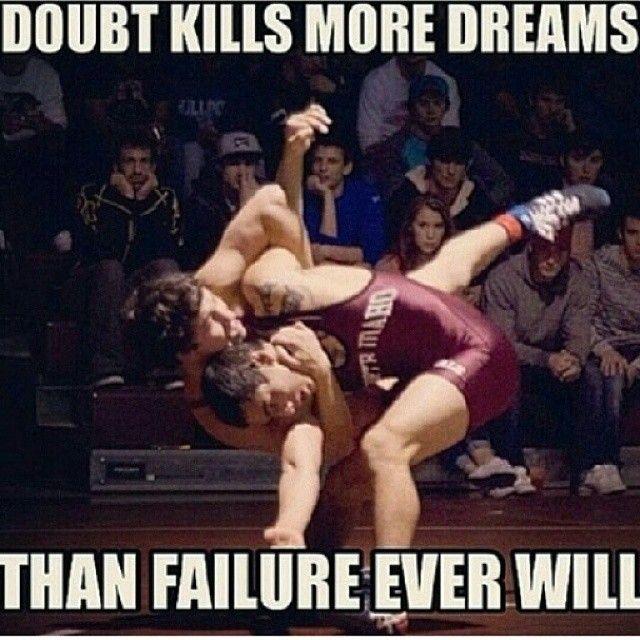 good reminder for my little wrestler.