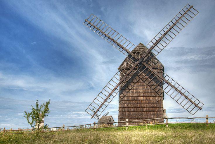 Windmill by ~emkacf on deviantART