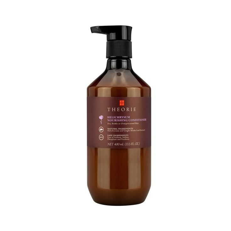 Theorie Helichrysum Nourishing Conditioner nourishes Dry, Brittle and Over-Processed Hair.