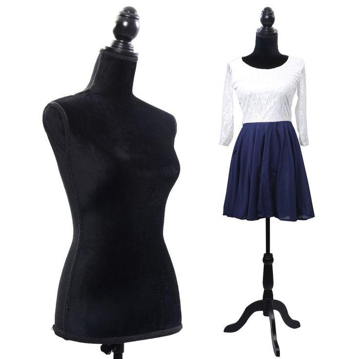 S l fashions black dress form