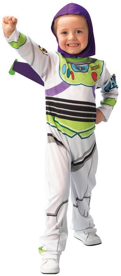 Déguisement Toy story Buzz l'éclair™garçon : Déguisement du célèbre Buzz l'éclair, grand Ranger de la galaxie pour enfants. Il se compose d'une combinaison imprimé, d'une cagoule et d'une paire...