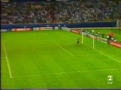 Gol de Nayim Recopa 1995, Real Zaragoza vs. Arsenal FC.