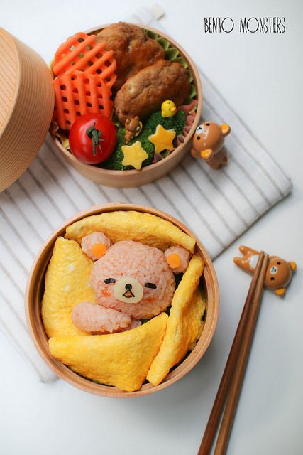 Sleeping Rilakkuma Bento | Bento Monsters