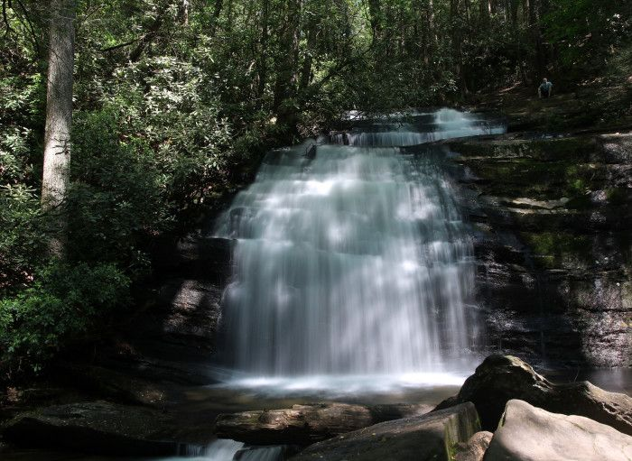 The Best 5 Mile or less hikes in Georgia 2. Three Forks at Long Creek Falls