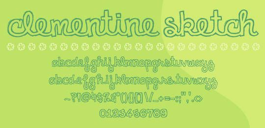 7 Beautiful Free Outlined Fonts
