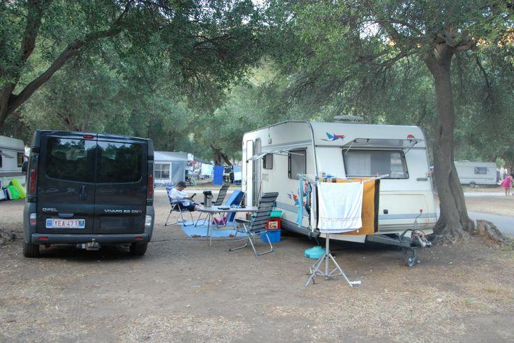 Prapratno camp Ston Kroatië augustus 2012