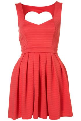 Petite Heart Back Prom Dress